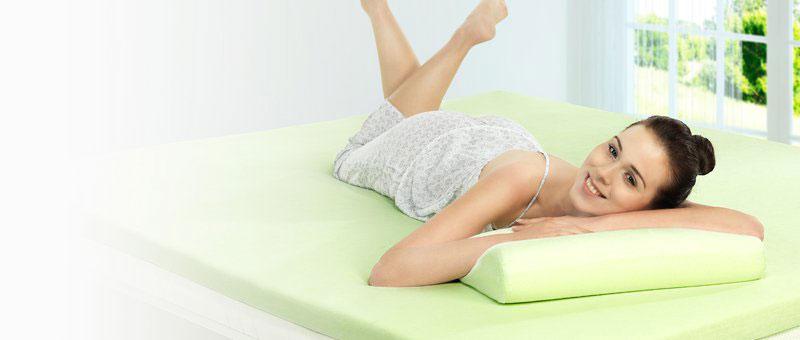 Anatomski jastuk Renew Eucalyptus